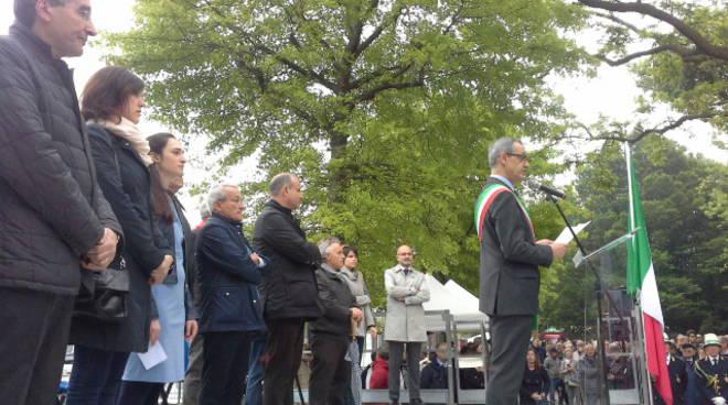 25 aprile a como discorso sindaco lucini