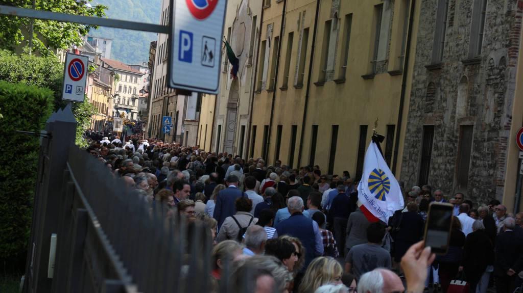 La processione del venerdi' santo a Como