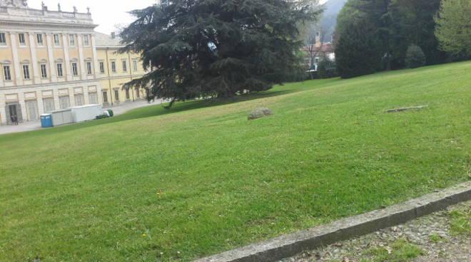 La visita in anteprima al cantiere di Villa Olmo a Como