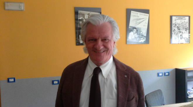 mario bulgheroni presidente comonuoto in studio