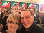 Berlusconi a cena ad Erba con i militanti di Forza Italia