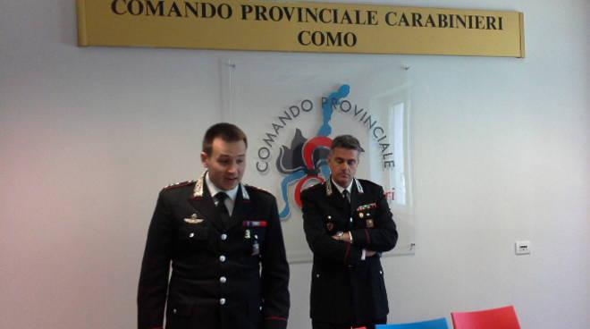 carabinieri arresto banda rapina portavalori lurate