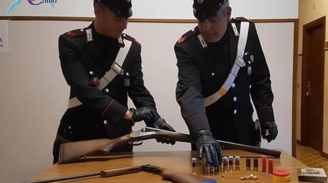 carabinieri fucile corrido arresto