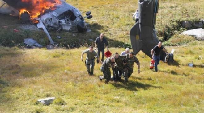 incidente elicottero san gottardo