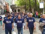 La camminata pre-elettorale di Mario Landriscina