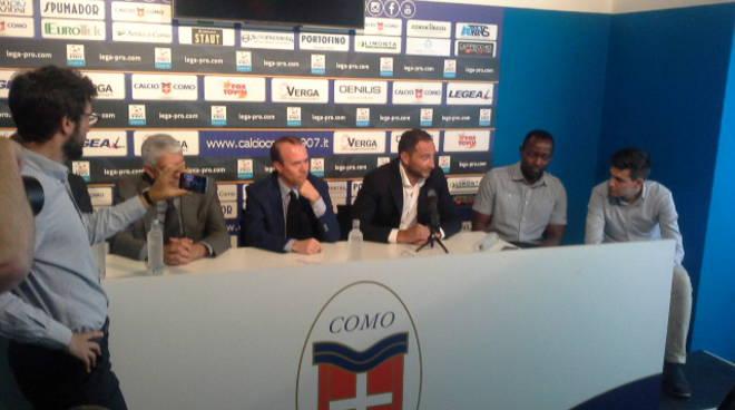 mark iuliano si presenta: nuovo allenatore del como