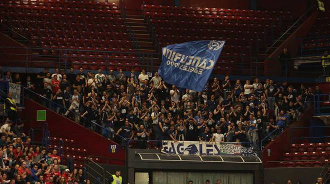 Mia Cantu' a Milano, derby con l'Ea7 al Forum