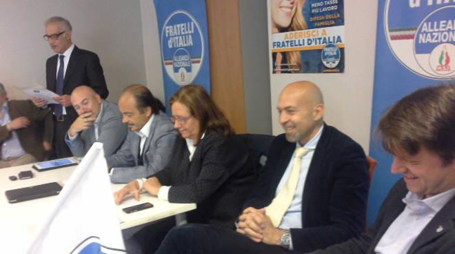 presentazione lista fratelli d'italia per elezioni como 2017