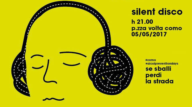 silent disco party con noi