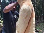 boscultura 2017 a schignano, artisi al lavoro
