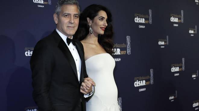 Clooney e Amal incinta