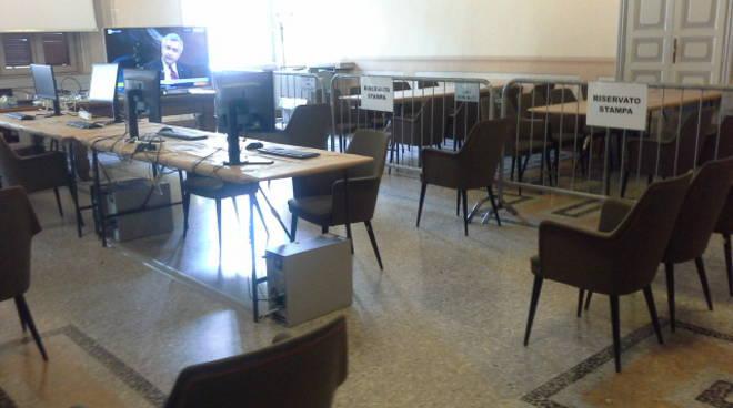 comune di como sala stampa per elezioni