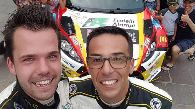 kevin gilardoni vince rally del ticino 2017