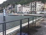Lungolago di Como, già montati i vecchi parapetti