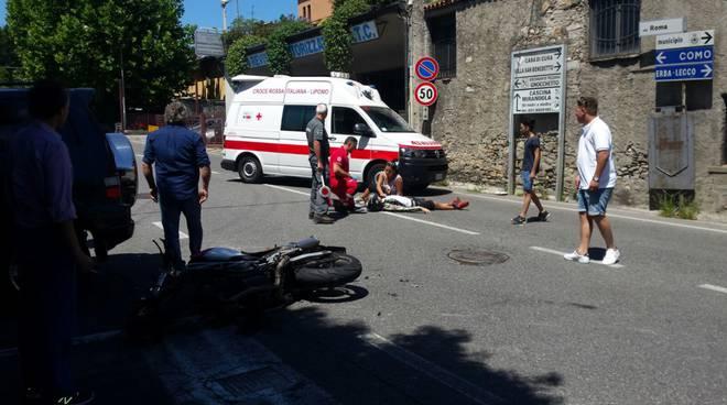 auto moto incidente albese
