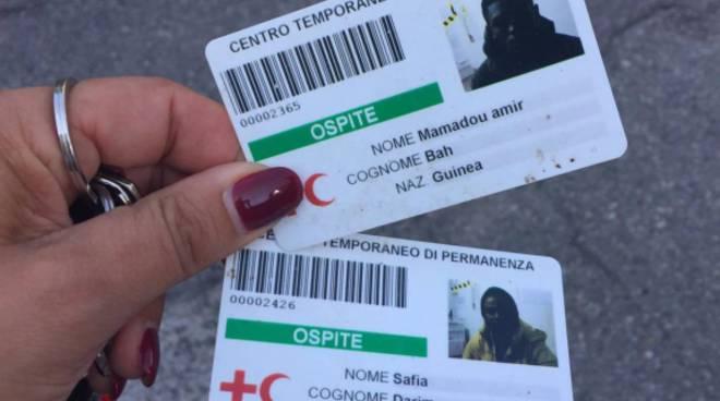 badge scaduti per accesso centro migranti como
