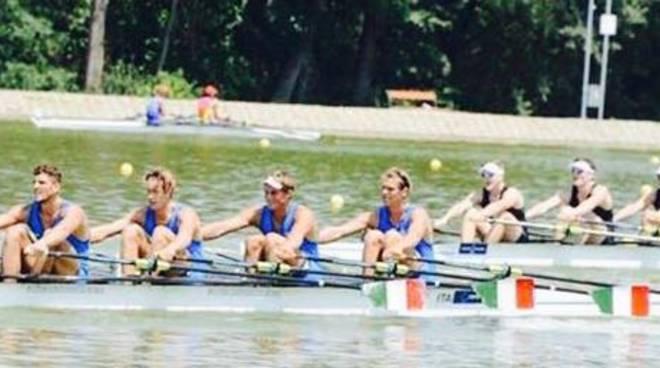 canottieri lario a plovdiv under 23 mondiali canottaggio