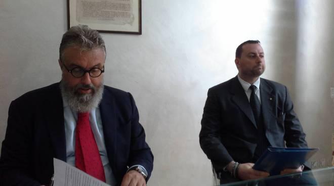 conferenza stampa aldo turconi e christian bertossi per omicidio carugo