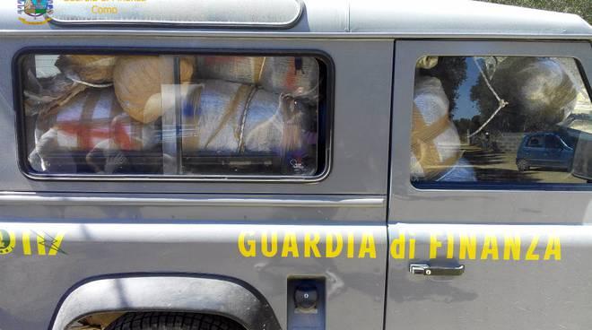 Droga ed armi dall'Albania al comasco: presa la banda
