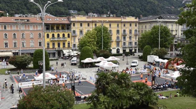 Festa del basket, Jab Streetball in centro Como