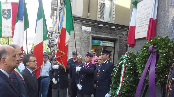 Il ricordo del brigadiere Carluccio a 36 anni dalla morte