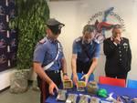 piante di marijuana trovate dai carabinieri prato di via rienza
