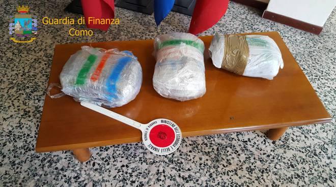 Traffico di droga tra comasco e Svizzera, quattro in carcere