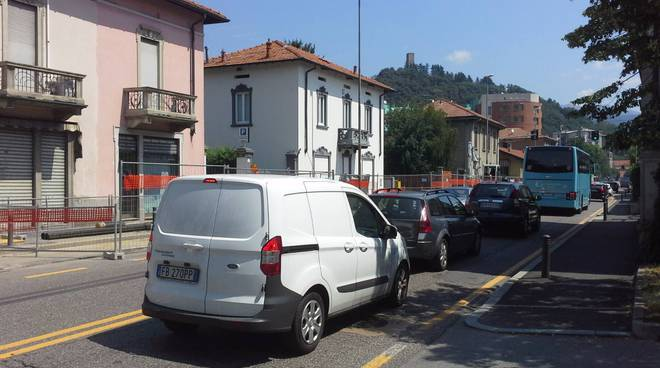 Traffico via scalabrini, viadotto lavatoi, via paoli, cantieri