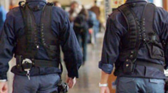 agenti polaria in servizio malpensa