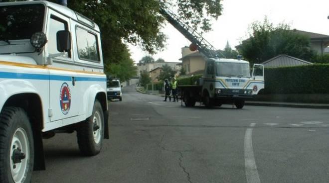 camion protezione civile di cantù