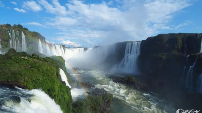giro del mondo francesco e stefano saluti dal brasile