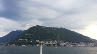 Il post-ferragosto a Como: nuvole e lidi deserti