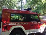 pompieri menaggio recupero escursionista disperso sui monti