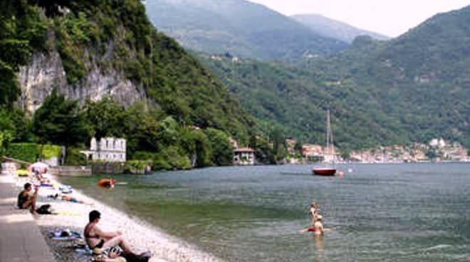 spiaggia menaggio e menaggio generica da lago