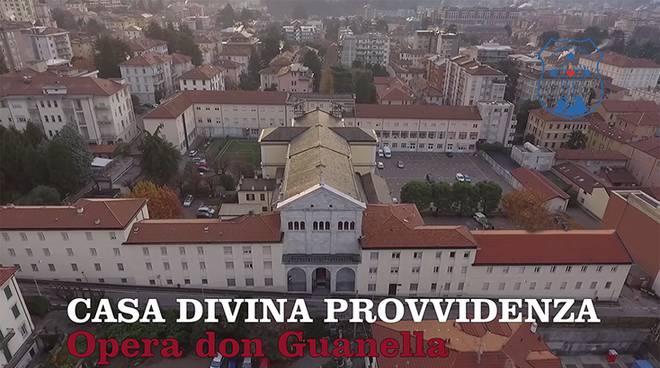 divina provvidenza don guanella di como veduta aerea struttura