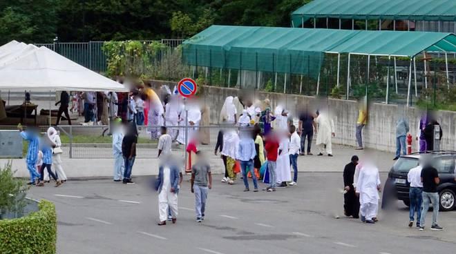 festa del sacrtificio islamici a cantù preghiera