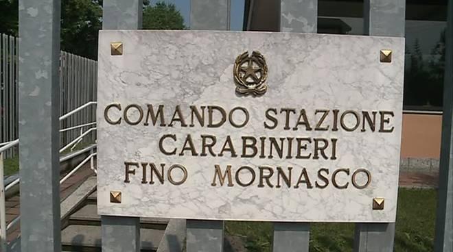fino mornasco caserma dei carabinieri e generica del paese