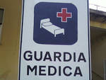 guardia medica cartello generico