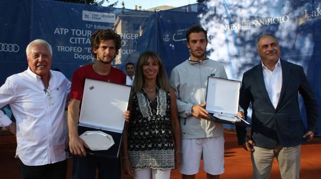 La finale del Challanger di Como di tennis a Villa Olmo