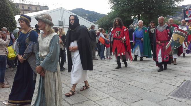 La prima giornata del Palio del Baradello 2017 a Como
