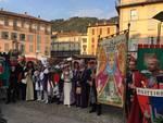 Palio del Baradello giornata conclusiva in via Garibaldi: premiazioni