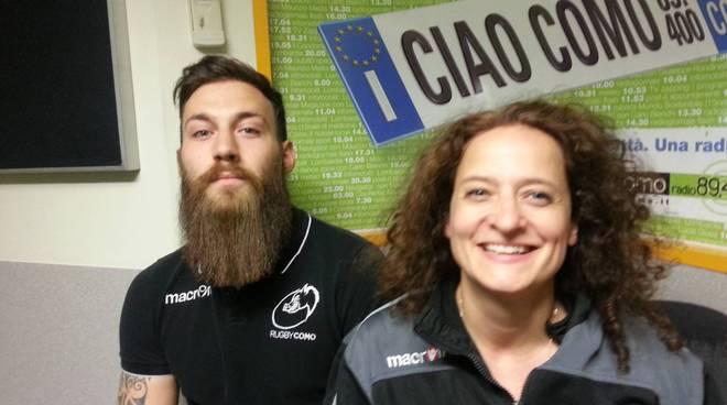 rugby como maschile e femminile presentazione campionato in studio