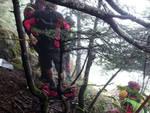 soccorso alpino fungiat morto Pagnona