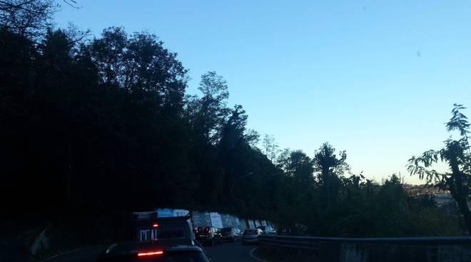 Como e Cantù, arriva il primo blocco del traffico sulle strade