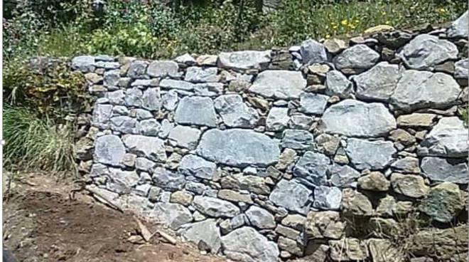 Corso base sull arte dei muri a secco ciao como - Tracce su muri portanti ...