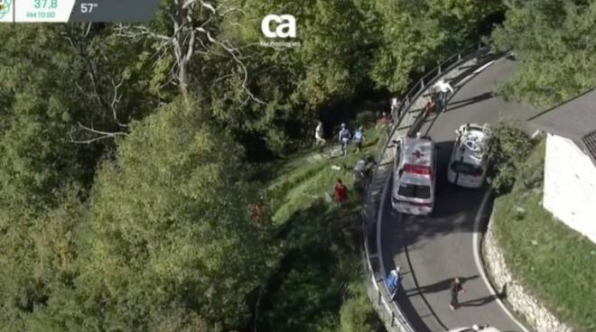 giro di lombardia incidente