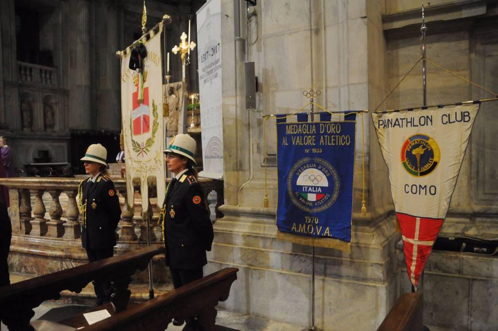 La messa di suffragio in Duomo per Antonio Spallino