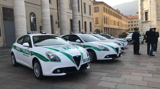 polizia locale nuove auto