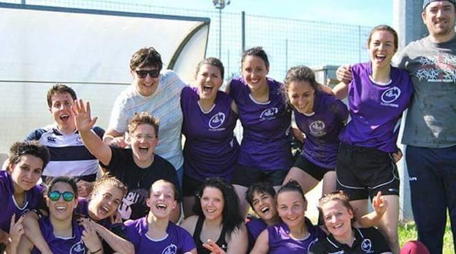 ragazze spartane rugby como squadra