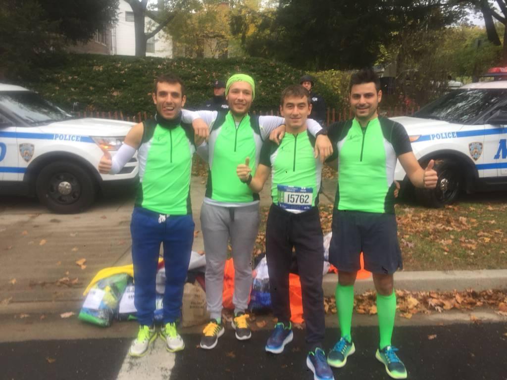 Atletica Alto Lario alla maratona di New York e poi da noi in redazione